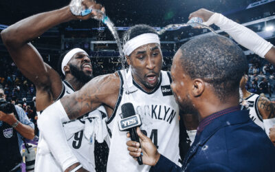 Hollis-Jefferson scores game winning drive vs the Kings